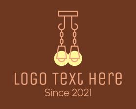 Light - Hanging Lighting Fixture logo design