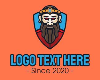 Reign - Royal King Shield Mascot logo design