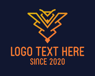 Poisonous - Wild Wasp logo design