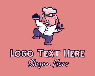 """""""Happy Pig Restaurant """" by town"""