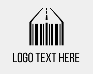 Roadway - Barcode & Street logo design