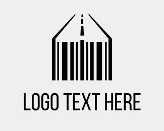 Way - Barcode & Street logo design