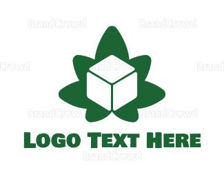 Sandbox - Cube Cannabis logo design