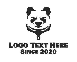 """Oriental Angry Panda"" by SimplePixelSL"