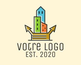 Construction  City Construction Developer logo design