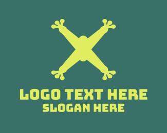 Control - Frog Drone Propeller Letter S logo design