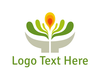 Flower Pot - Flower Pot logo design