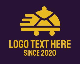 Tray - Fast Food logo design