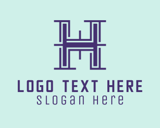 Technology - Property Letter H logo design