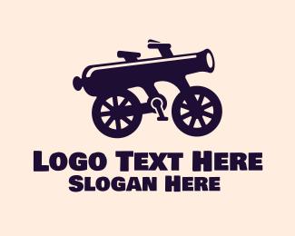 Bike - Cannon Bikes logo design