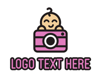 Cctv - Baby Photography logo design