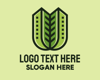 Condominium - Eco Condominium Property logo design