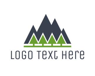 Mount - Mountain Landscape logo design