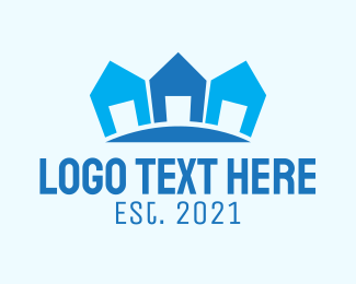 Subdivision - Blue Subdivision Residence  logo design