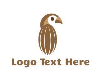 Cocoa - Cocoa Bird logo design