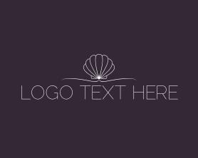 Shell - Shell Minimalist Wordmark logo design