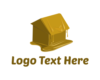 Melting - Wax House logo design