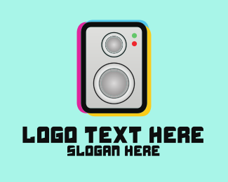 Magenta - Boom Box Logo logo design