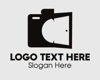 Movie Studio - Darkroom Camera logo design