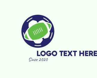Soccer Training - Soccer & Football Ball logo design