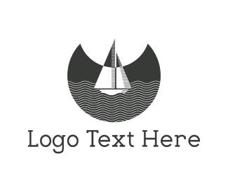 Navigation - Night Boat logo design