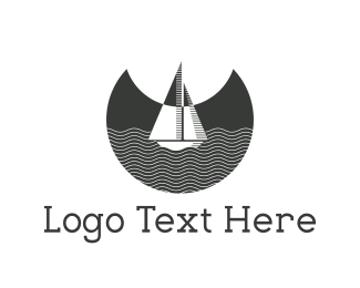 Bay - Night Boat logo design