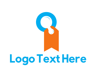 Letter Q - Letter Q Label logo design