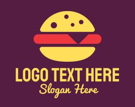 Burger - Fast Food Burger logo design
