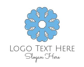 Orthopedic - Bone Flower logo design