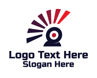 Flash - Web Cam Flash logo design