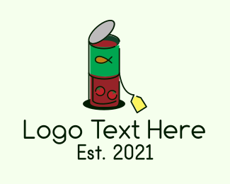 Food Store - Canned Food Price Tag logo design