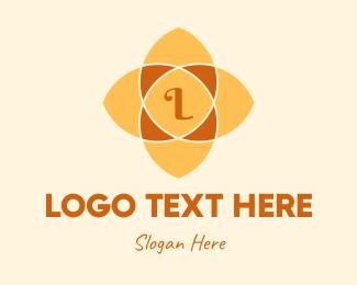 Mandala - Mandala Flower Lettermark logo design
