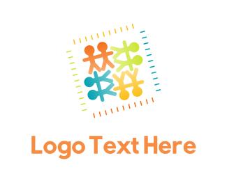 Childhood - Colorful Childhood logo design
