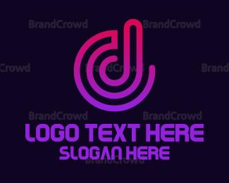 Sound Wave - Sound Wave D logo design