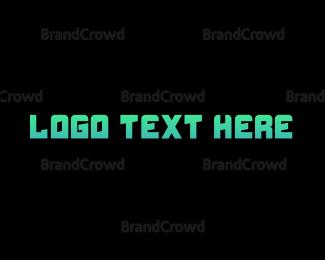 Hacker - Blue & Futuristic logo design