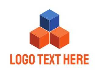 Construction Cubes Logo