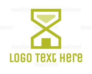 Second - Hourglass House logo design