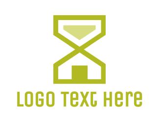 Hourglass - Hourglass House logo design