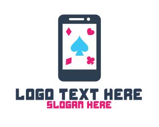 Solitaire - Mobile Gambling App logo design