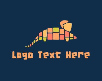 Mosaic - Mouse Mosaic logo design