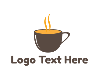 Cup - Hot Cup logo design