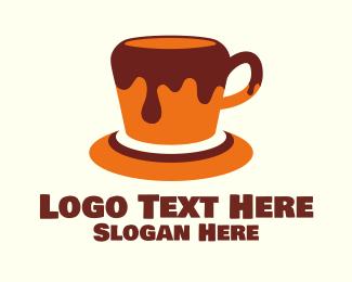 Chocolate - Honey Chocolate Coffee logo design