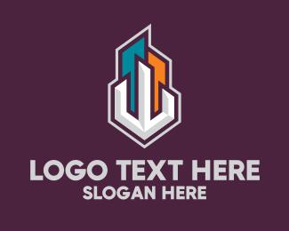 Room - Skyline Metropolis logo design