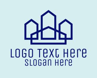 Apartments - Modern Apartments logo design