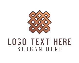 Detailed - Weaved Fabric logo design