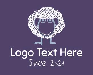 Sheep - Scribble Sheep logo design