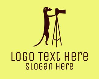 Videographer - Meerkat Photography logo design