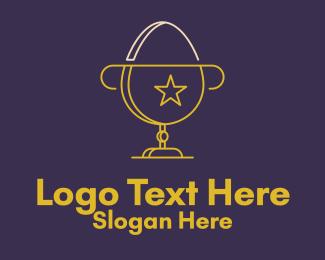 Prize - Egg Trophy Cup logo design