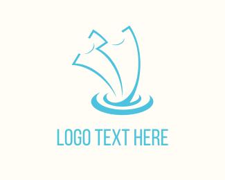 Ticket - Blue Tickets  logo design