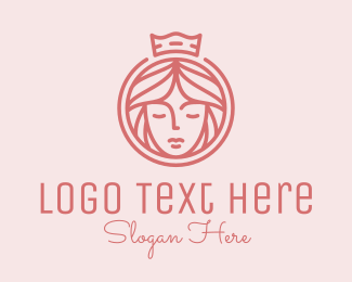 Glam - Beauty Princess Queen logo design